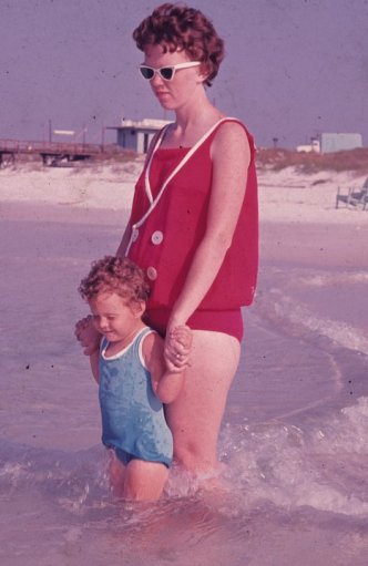 Me and Momma ... Notice the background...