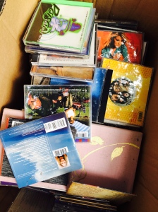 Got rid of these old CDs.. they are all loaded digitally now anyway!