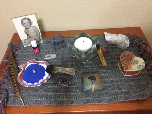 My new little sacred space