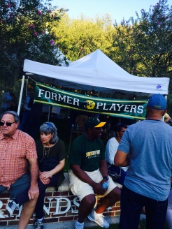 Former Players tailgating tent